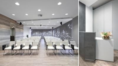1 - allestimento sala conferenze
